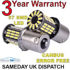 2 X 382 Smd led 1156 Ba15s P21w 5w Car Turn Reverse Back Brake Light Bulb 12v