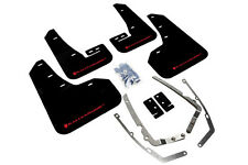 Rally Armor Mud Flaps Guards for 15+ VW Golf/GTI MK7 MKVII (Black w/Red Logo)