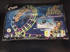 "K'Nex ""Screaming Serpent"" Roller Coaster Motorized Building Set #63153"