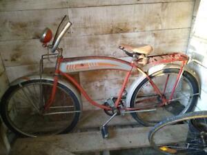 HAWTHORN BICYCLE 1950'S MONTGOMERY WARD