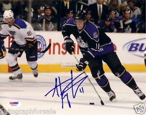 Anze Kopitar autographed signed autograph Los Angeles Kings 8x10 photo (PSA/DNA)