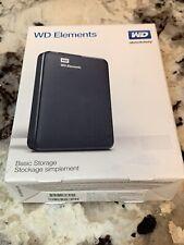 Western Digital WD Elements SE 1TB Portable Storage WDBEPK0010BBK-NESN Black