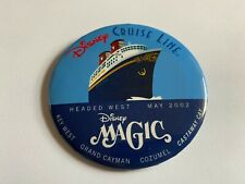 Disney Cruise Line Magic Headed West - BUTTON Disney Pin 15423