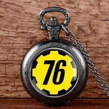 Fallout 4 76 Hermandad 101 Vault Boy Gamer Collar Colgante Joyas Bolsa De Regalo