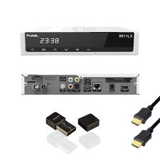 Protek 9911 e2 Linux HD TV Receiver 1x Sat Tuner dvb-s2 HD 9910 WLAN Stick HDMI