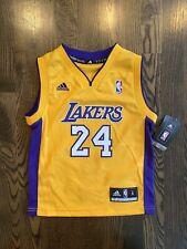 NWT New Adidas KOBE BRYANT #24 Los Angeles LA Lakers Jersey Toddler Small S (4)