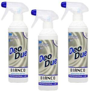 Kit 3x Deo Due BIANCO 500ml - DeoDue Deodorante Profumatore Ambiente ChimiClean