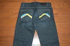 A|X Armani Exchange - Made USA - CLASSIC STRAIGHT Leg Blue Jeans - Men 34 x 33