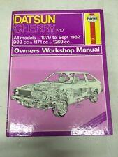 Datsun Cherry N10 79-82 Haynes Manual Brand New..... book number 679