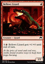 MTG 4x BELLOWS LIZARD - LUCERTOLA A SOFFIETTO - ORI - MAGIC