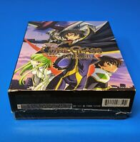 Code Geass Lelouch Rebellion Complete Limited Edition Box Blu-Ray Anime OOP
