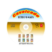 Cavalcade Magazines 65 Issues Collection On CD-ROM Disc  Vintage Retro-X-Mags