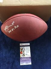 TAMPA BAY BUCCANEERS JAMEIS WINSTON signed & inscribed OFFICIAL NFL FOOTBALL JSA