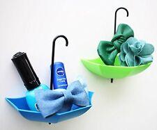 3 pcs set Umbrella Drop Style Clothes Key Hat Wall Hanger Hooks