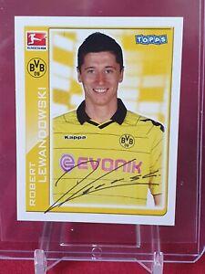 Robert Lewandowski Borussia Dortmund 1st Bundesliga 2010/11 Topps Rookie Sticker