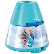Disney Frozen LED 2 en 1 LED Lámpara Mesilla & Proyector Por Philips Iluminación