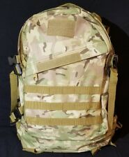 Military Tactical Combat Hiking Assault Backpack Rucksack Multicam CAMO - NEW