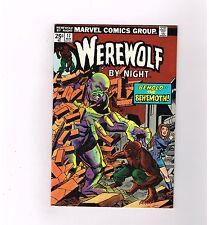 "Werewolf By Night #17 Grade 9.2 Bronze Age horror! ""Behold the Behemoth!"""