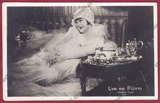 LYA DE PUTTI 47 ATTRICE ACTRESS CINEMA MUTO SILENT MOVIE Cartolina FOT. V. 1927