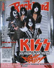ROCK HARD 10 2009 Kiss Slipknot Steve Vai Mr Big Ace Frehley Paradise Lost UDO