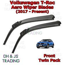 (17-19) Volkswagen T-Roc Aero Wiper Blades / Front Flat Blade Wiper VW