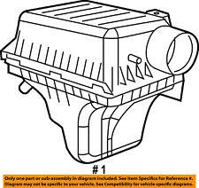 Dodge CHRYSLER OEM 07-10 Charger 5.7L-V8-Air Filter 4861704AB