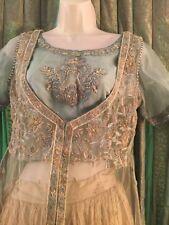 Pakistani indian Stun Angarkha style Engagement/ party wear lehnga dress