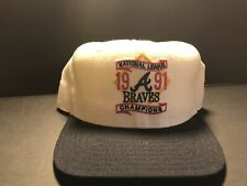 Vintage Rare 1991 Braves Champions Hat Made In USA