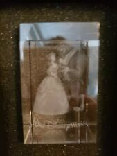 Disney Arribas Brothers Etched Cube Beauty And The Beast