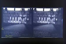 Maintenon France 3 Photos stéréo négatif sur film souple 1913