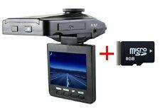 "2.4"" Full HD 1080P Visione Notturan Auto Camera DVR Registratore Dash Cam + 8GB"