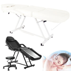 Breathable Micro-plastic Cosmetic Massaging Table Eyebrow Tattooing Bed + Stool