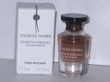 VANILLE NOIRE YVES ROCHER MINI EAU DE PARFUM 0.17 oz/ 5 ml. NEW WITH BOX!!