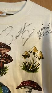 The Allman Brothers Band Autographed Signed Shirt Mycology