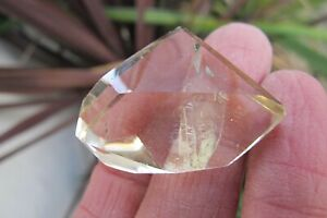 Citrine Healing Quartz Crystal Natural polished healing Faceted Not heated 12.5g