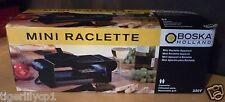 Mini raclette apparaat voor 2 personen 220 Volt