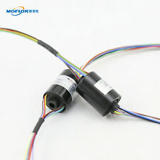 MT0522 MOFLON SLIP RINGS WITH BORE SIZE 5mm,12 wires/2A each,mini bore slip ring