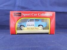 Saico Ford Anglia Police Car Die Cast Model.