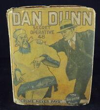 Big Little Book #1116, Dan Dunn ~ Secret Operative 48 ~ Crime Never Pays, 1934