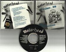MOTORHEAD It's Almost 1916 Sampler 3TRX w/ INTERVIEW USA 1991 PROMO DJ CD single