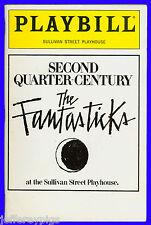 Playbill + The Fantasticks + Dorothy Martin , William Tost , Bryan Hull