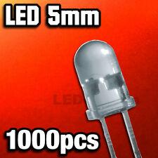411/1000# LED Rouge 5mm  1000pcs    4000mcd