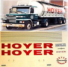 Scania Hoyer Svenska AB Svezia (S) 1:87 camion decalcomania autocarro