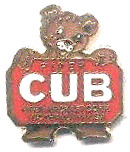 LAST of the Piper Cub Logo Classic Tie Tack - Lapel/Hat Pin