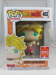 Animation Funko Pop - Super Saiyan Broly - Dragon Ball Z - SDCC Excl - No. 402