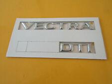 Schriftzug Emblem VECTRA DTI chrom Vectra B ORIGINAL OPEL 177010