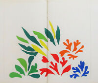 HENRI MATISSE - ACANTHES -  ORIGINAL VERVE LITHOGRAPH 1958 - FREE SHIP IN US !
