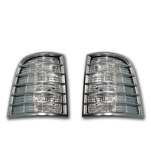 OEM NEW 2006-2010 Mercury Mountaineer PAIR Tail lights Lamps-Less Chrome Package