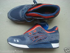"Asics Gel Lyte III/3 ""2013"" 44 Navy/Orange"