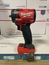 "Milwaukee 2854-20 M18 18V 3/8"" Li-Ion Drive Fuel Stubby Impact Wrench Bare Tool"